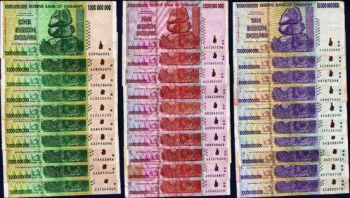 Zimbabwe Currency Bundles